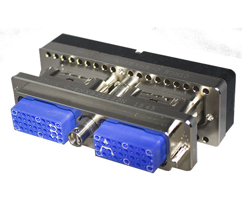 C-ENX™ EN 4644 Modular Rectangular Connectors