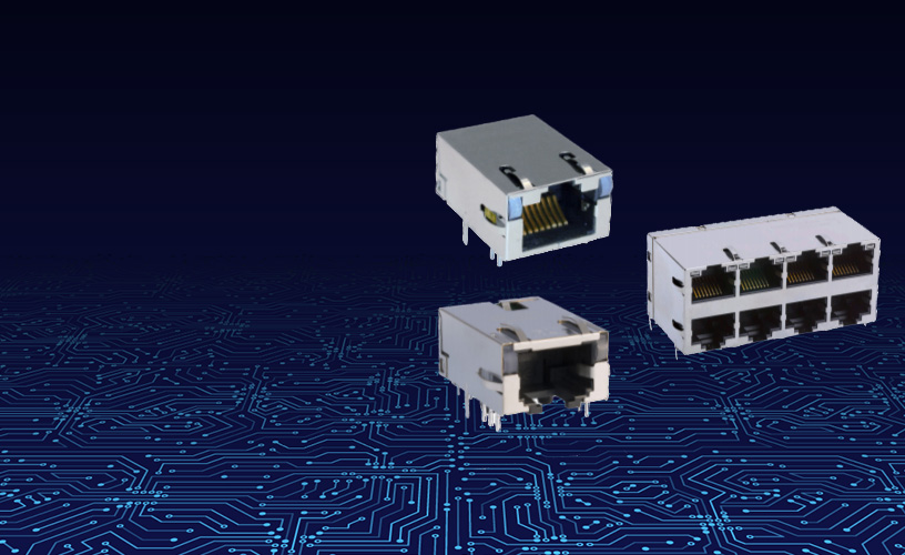 Bel Magnetic Solutions' Single Port and Eight Port 2.5GBASE-T MagJack® ICMs Now Available in Distribution