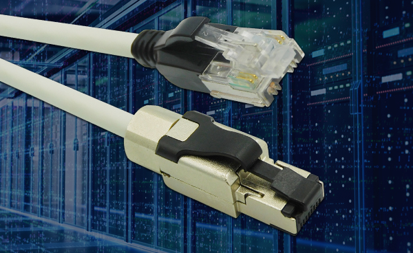 Stewart Connector Introduces Category 8.1 to Category 8.2 Twisted Pair Ethernet Hybrid Patch Cords